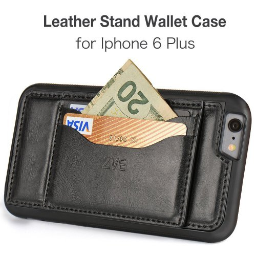 iPhone 6s/6s Plus Leather Wallet Case