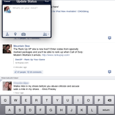 facebook-ipad-app-update-status
