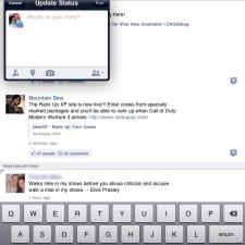 facebook-ipad-app-update-status