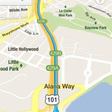 Google Maps iOS, Directions