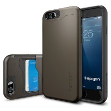 iPhone 6 Spigen Kick-Stand Brown