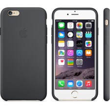Apple iPhone 6 Silicone Case, back gold