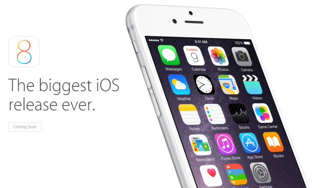 iOS 8 - Biggest iOS Release Ever