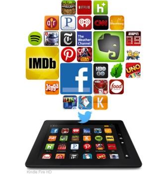 Kindle HDX Apps