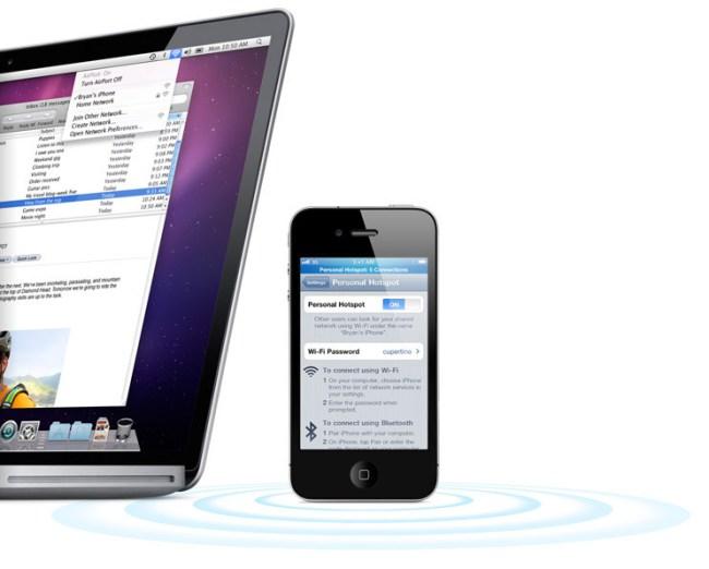 Apple iPhone Hotspot