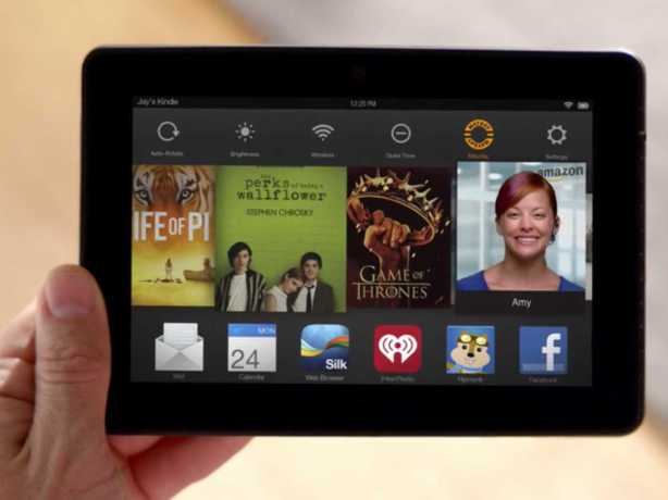 Kindle Fire HDX Mayday LIVE