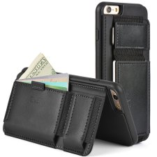ZVE iPhone 6s Plus Wallet Case Full View